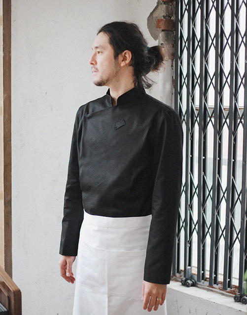 Slim Chef Jacket (Black) #AJ1455
