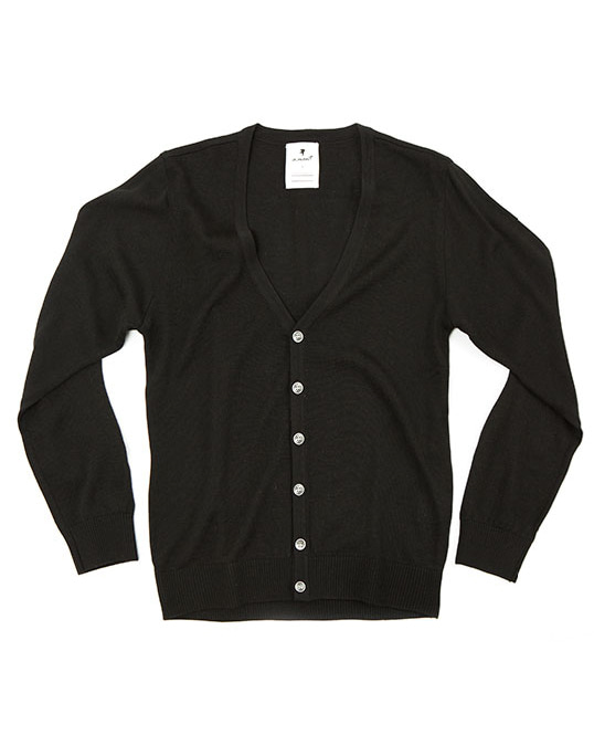 saint cardigan black #AC1627