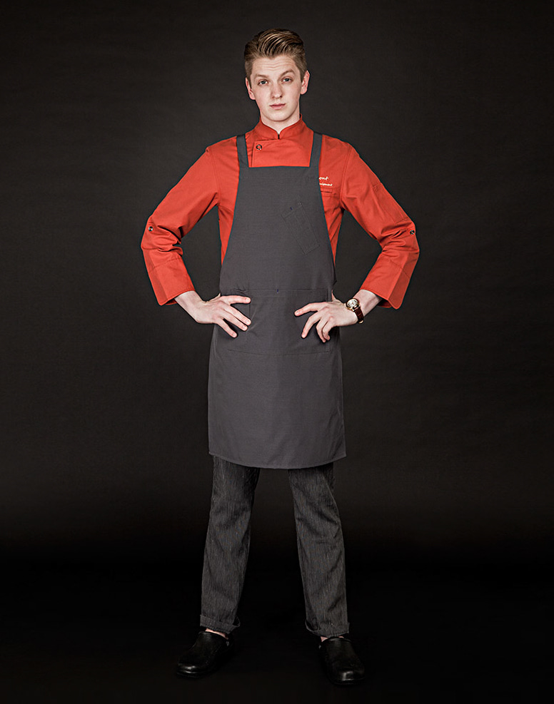 canada-goose chest apron deep grey #AA1655