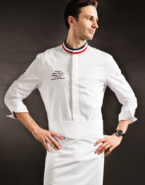 france single chef coat #AJ1741