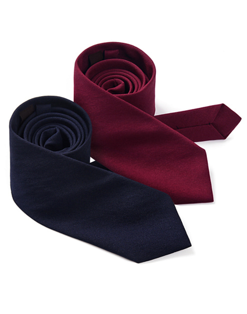 solid basic necktie (2 colors) #AA1788