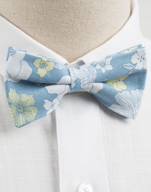 hawaiian flower bow tie 1 #AA1818