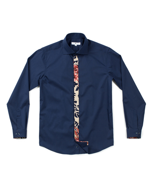 ader flowers navy shirts #AS1745