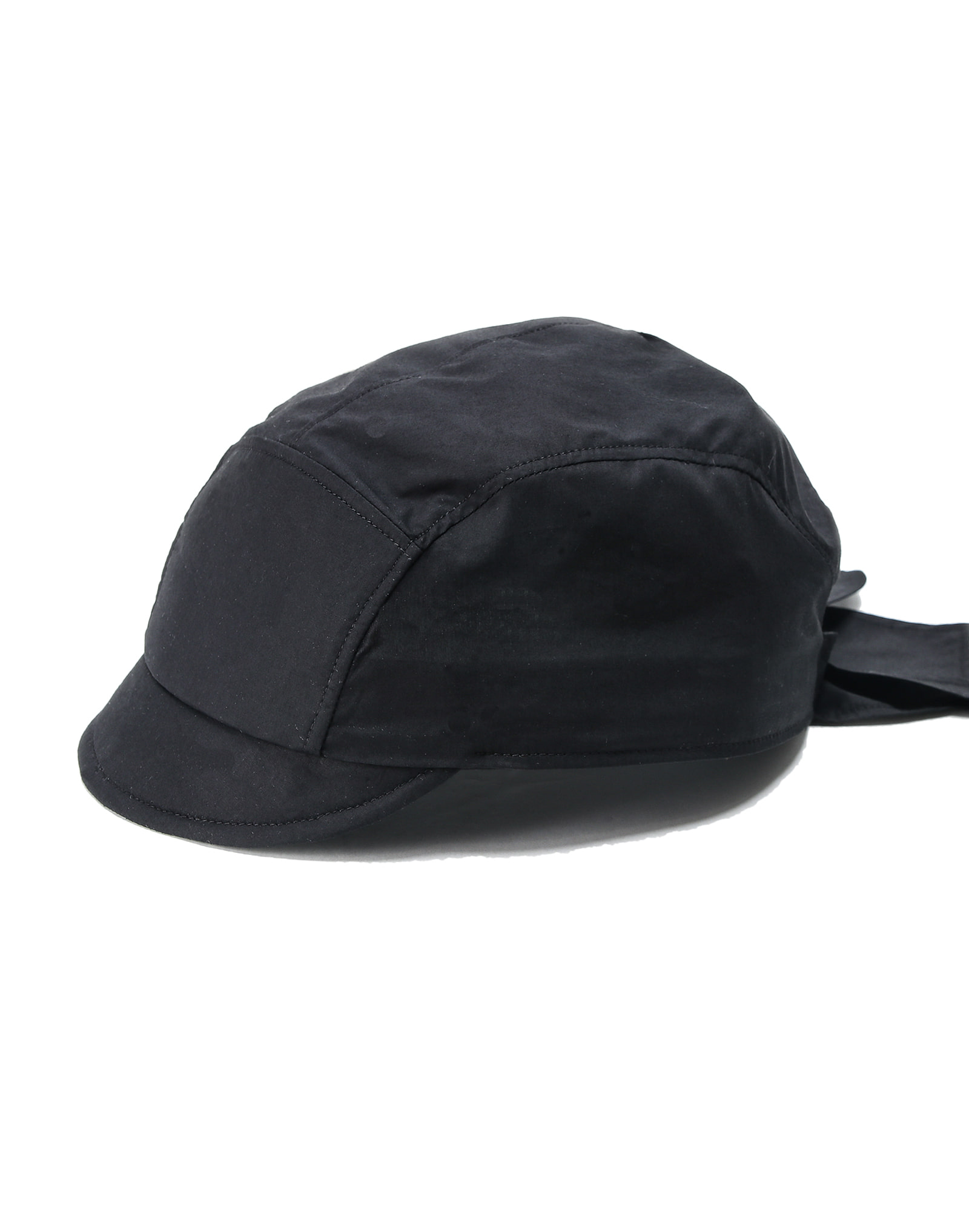 #AH1865 Thin Cotton Cap Bandana BLACK