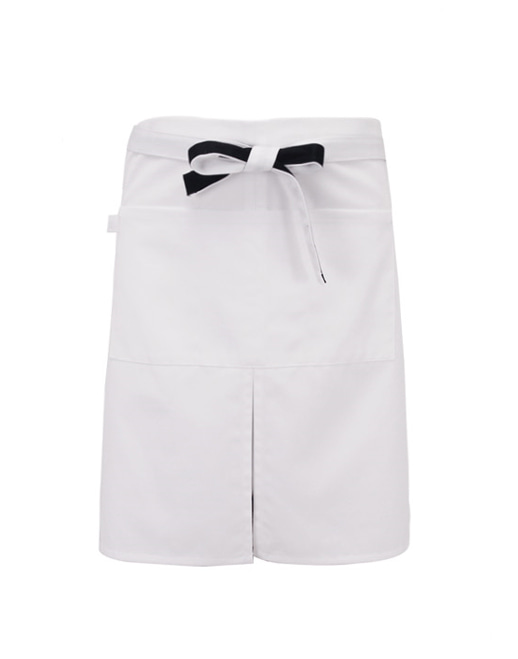 #AA1409 Coloration Apron White