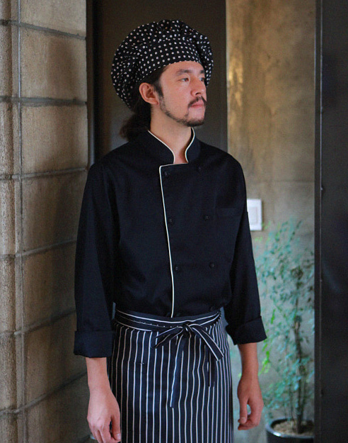 Chef Star Hat #AH1572 black