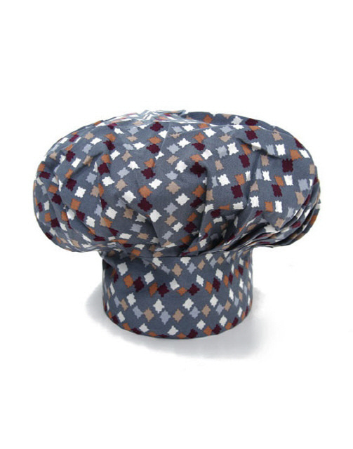 Chef Patch Star Hat #AH1597 Blue