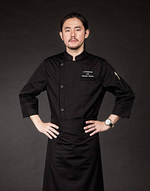 Basic Chef Coat (Black) #AJ1527