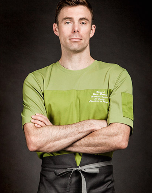 wind classic chef shirt olive green #AT1691
