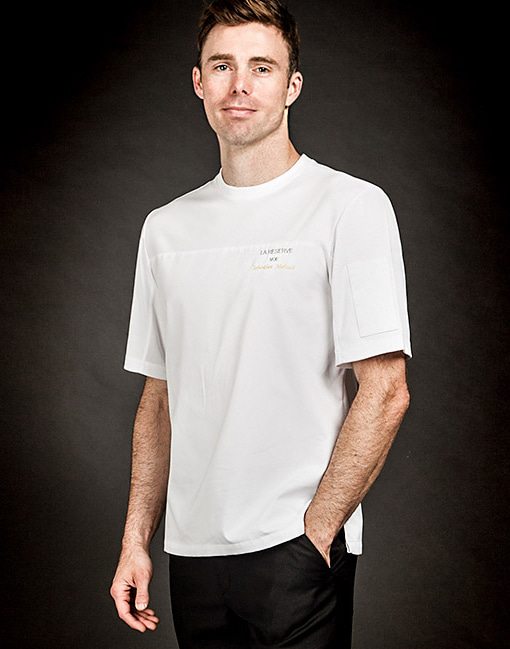 wind classic chef shirt white #AT1691