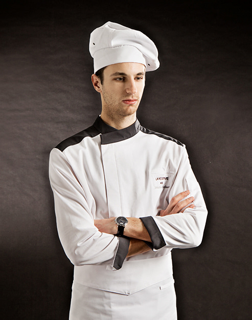 marlin chef hat white #AH1785