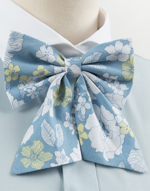 hawaiian flower bow tie 2 #AA1819