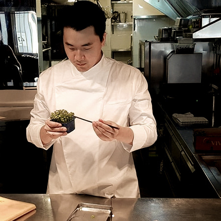 Chef. Han Seok Hyun -Kimmi Restaurant in Singapore-