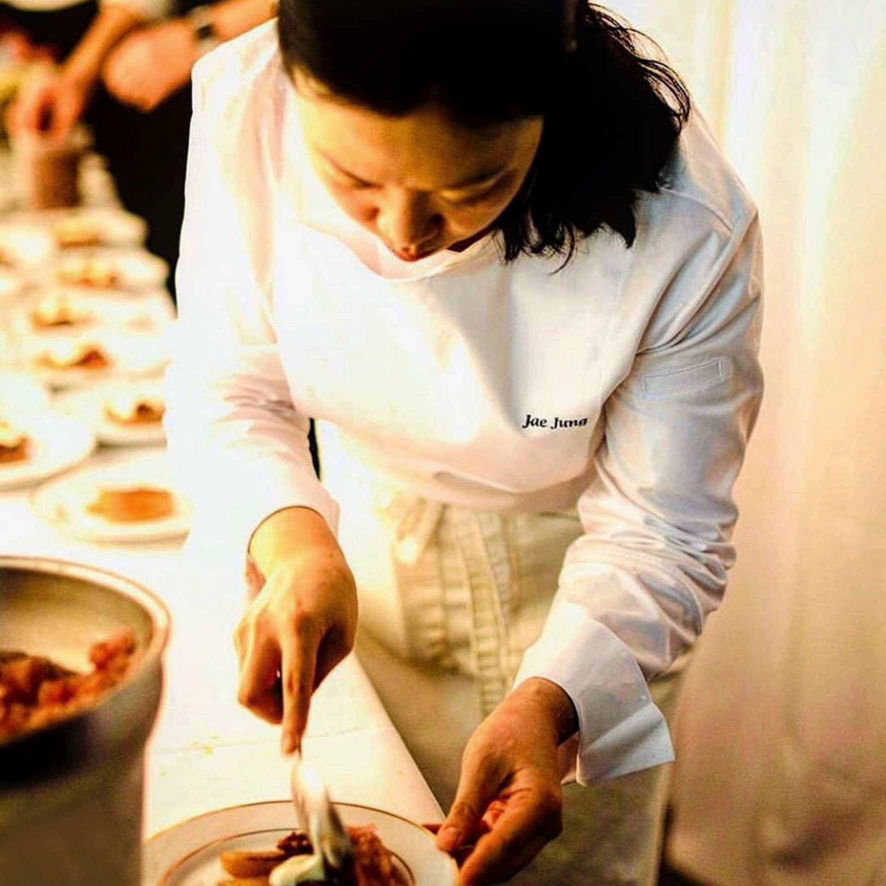 Chef. Jae Eun Jung -cafe boulud in New York-